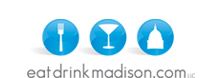 Eat Drink Madison logo